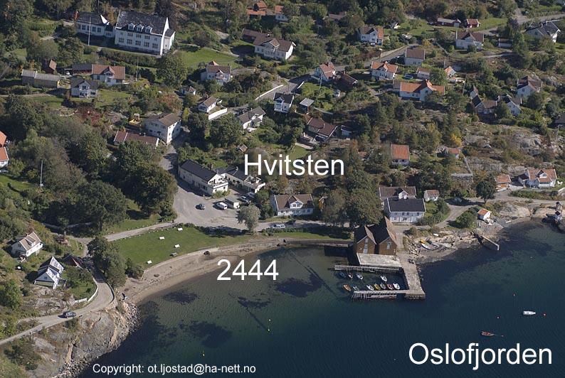 Flyfoto Av Hvitsten Ved Oslofjor